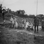 Landesk. Gemeinschaft Hohenstein-Ernstthal 1931 - Das Gelände am Kroatenweg wird erworben und die Bauvorbereitungen beginnen