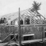 Landesk. Gemeinschaft Hohenstein-Ernstthal 1931 - Richtfest
