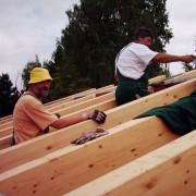 Landesk. Gemeinschaft Hohenstein-Ernstthal 2003 - Umbau und Neubau: Der Rohbau wächst